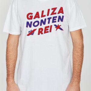 Camisola Galiza Non Ten Rei Branca