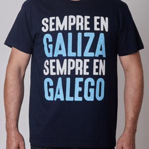 Sempre En Galiza Sempre En Galego Negra Azul